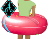 Ama{Pool Floatie pink