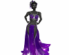 Purple Star Gown