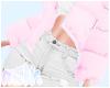 Pink coat & Jeans | Milk