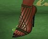 FG~ Kylie Pumps Green