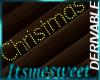Derv Anim Christmas Sign