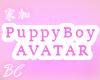 Sitting Puppy Boy Avatar   Male