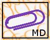 IndigoPaperclip M/F {MD}