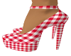 Country Gal Red Heels