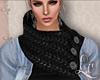 LC| Collar Scarf  Black