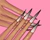 Faded Nails Black