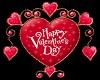 (V) Valentine Heart Red