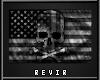 R;USkull;Flag