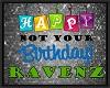 RAVENZ un-bday balloons