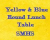 SMHS Round Lunch Table