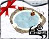 Winter Snow Pit Hot Tub