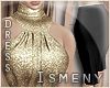 [Is] Gold & Black Dress