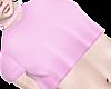 B! Pink Crop Top Femboy