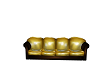 Yellow Scruffy Couch
