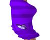purple cargo shorts
