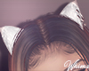 Cat Ears White