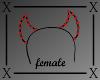 .X. Devil Headband F