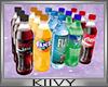 K| Case of  Soda Bottles