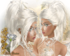 Romantic hair white