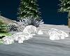 !Snow Covered Rocks