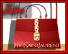 Laurent Bag Red
