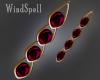 Gem Ruby Earrings