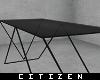 c   Stylish Black Table