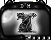[DM] Skeleton Cat Badge