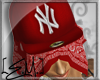 [E.M.] NY Fitted Red