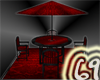 69- Red Passion Patio