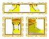 yellow Pikachu shoe