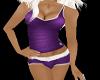 Purple Sporty Set