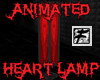 ~F~ Heart Lava Lamp