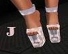 *J* Glittery Heels