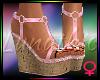 ! A Summer Sandals Pink