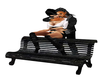 black wood lovers bench2