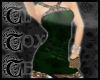 TTT Brocade Silk~Emerald