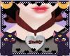 FOX Daddy heart collar