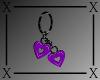 .X. Sarah Earring Purple