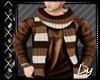 *LY*Winter Brown Sweater