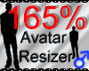 *M* Avatar Scaler 165%