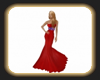 Red Pam gown