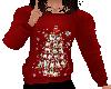 Flat Holiday Pug Sweater