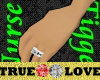 True Love Wed Band m/f