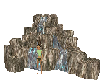 Water fall animated