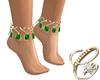Harem Feet Gold G