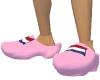pink dutch clogs
