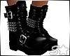 S* Punk Chain Boots