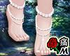 蝶 White Foot Pearls