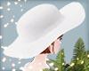 KKI# white floppy hat